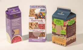 Windowed Gable-Top Cartons for Dry Foods and Beauty Products