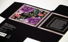 Film Ups Design Application with Rose Petal Feel