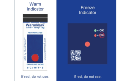 Temperature-Monitoring Product for Cold Chain Use