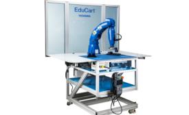 EduCart Workcell Is a Next-Gen Fenceless Robotic Training Program