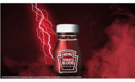 HEINZ Gets Creative for Halloween with Blood Ketchup