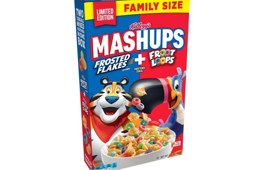 Kellogg's Introduces Limited Edition MASHUPS Cereal