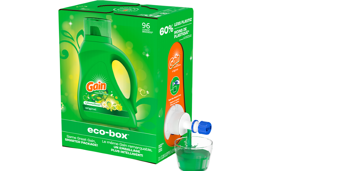P&G Expands Eco-Box Line for Laundry Products