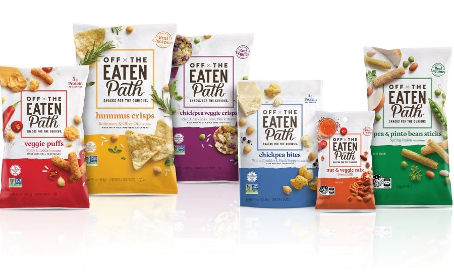 Global Redesign Focuses on Authentically Inspired Snacks