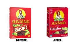 Sun-Maid Updates Logo, Graphics for Modern Packaging Design