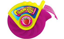 Bazooka Candy Rolls Out Push Pop Gummy Roll
