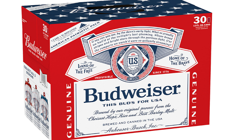 Budweiser Commemorates Memorial Day with Limited Edition Design