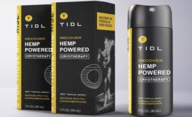 TIDL Hemp Topical Spray for Athlete Recovery