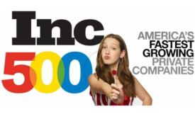 15-Year-Old's Candy Company on Inc's Annual List of America's Fastest-Growing Private Companies