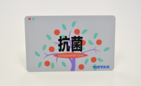 Toppan Printing Develops Payment Cards with Antibacterial Agent