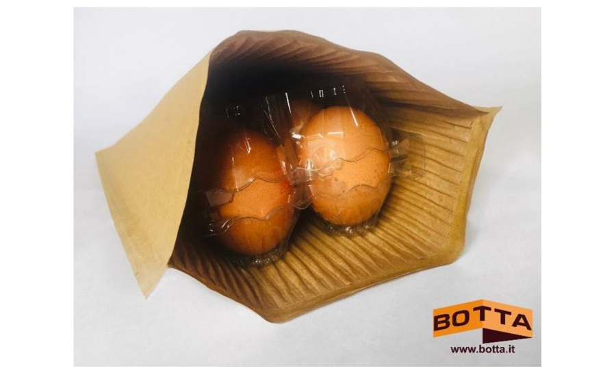 Botta Packaging with Esselunga to Substitute Bubble Wrap with Paper