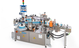 Fast, Flexible Labeling Machine Suited to Ramp Up Disinfectant Production