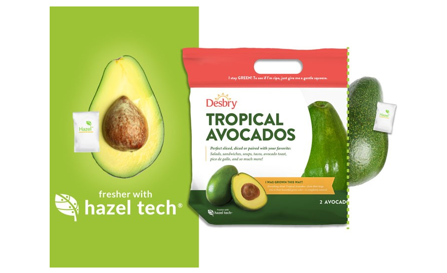 Hazel Technologies Launches Sachet to Extend Shelf Life of Produce