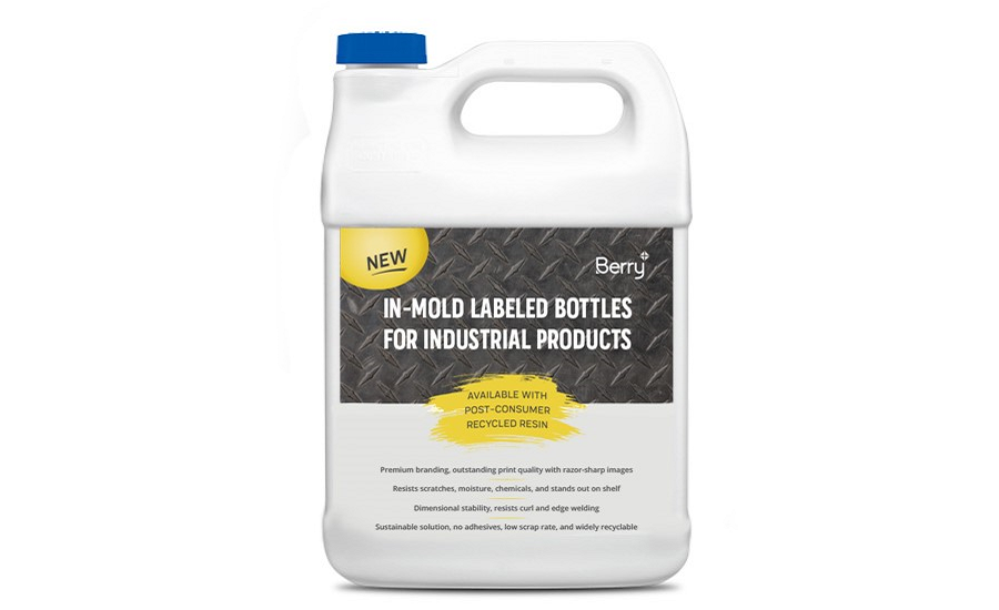 New Bottle with In-Mold Label Capability Launches from Berry Global