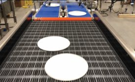 Metered Servo Merge Conveyor Helps to Transport Packaged Food