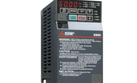 Mitsubishi Electric Automation Releases FR-E800 Series Variable Frequency Drive