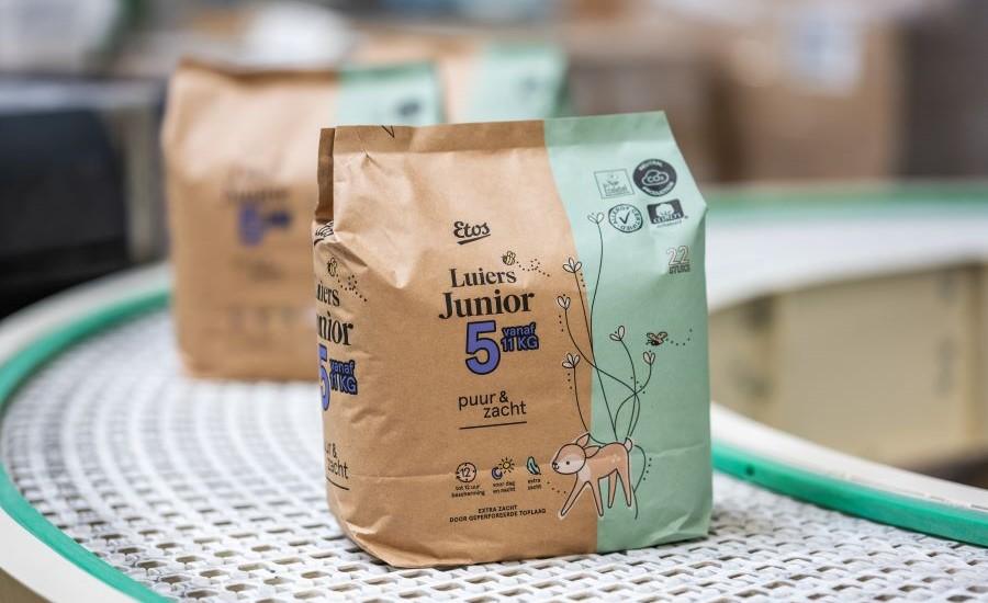 Mondi Debuts Paper-Based Diaper Packaging for Drylock