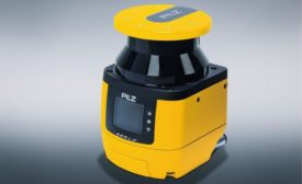 Safety Laser Scanner Monitors Up to Three Zones Simultaneously
