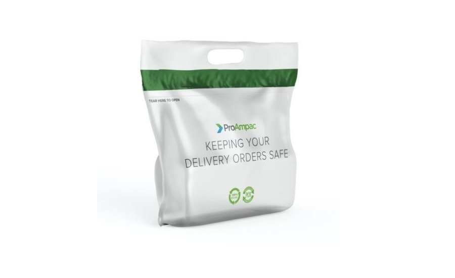 Recyclable PE Bag for Food Delivery and Specialty Retail Products