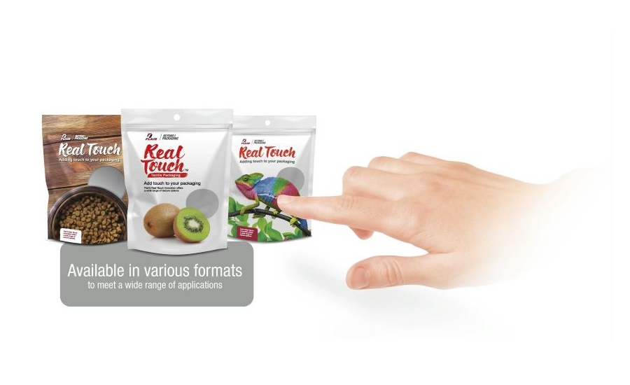 New Real Touch Tactile Packaging for High-Impact Shelf Differentiation