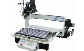 New Benchtop Bottle/Vial Filler Robot for Liquid Filling and Capping