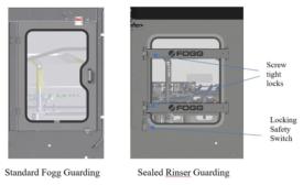 Fogg Announces New Sealed Rinser Enclosure Doors