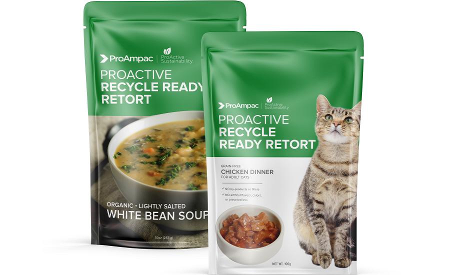 ProAmpac Debuts Recycle Ready Retort Pouches