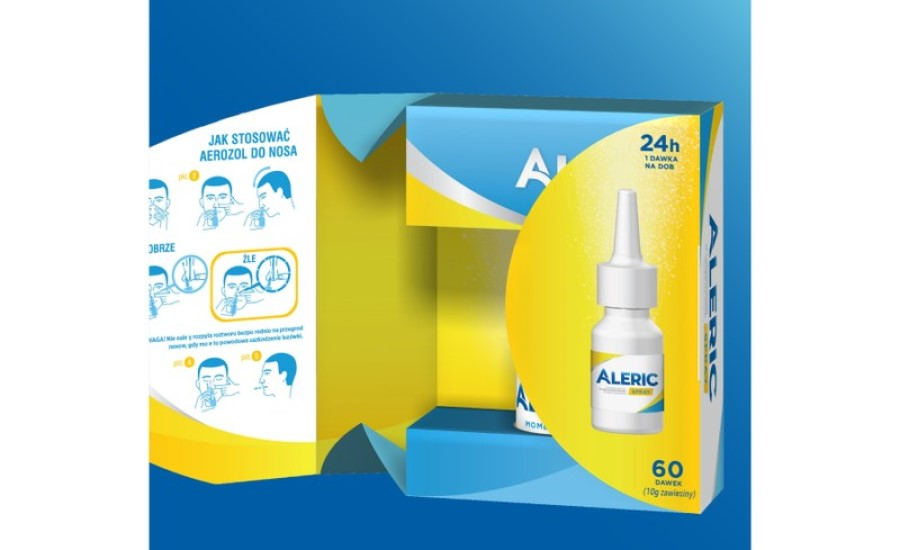 The Goldstein Group Creates Aleric Spray's Package
