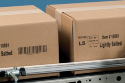 boxes on conveyor