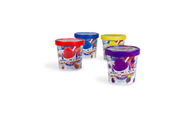 SNO-BALLS® TO-GO frozen dessert switches to in-mold labeling packaging