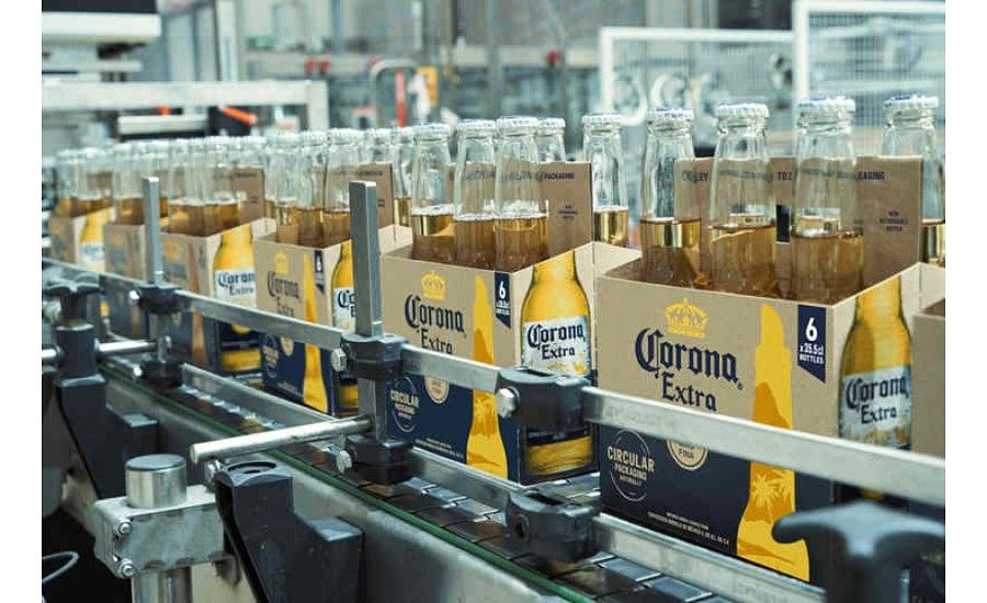 Corona Launches Sustainable Beer Pack Made Using Barley