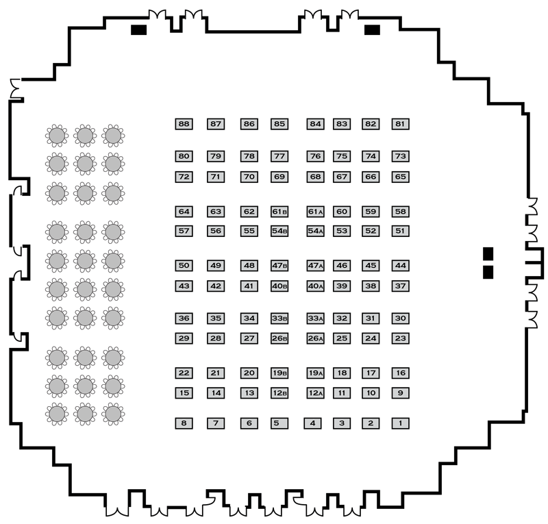 Expo Layout - Floor Plan