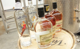 Valentine Distilling packages five SKU's