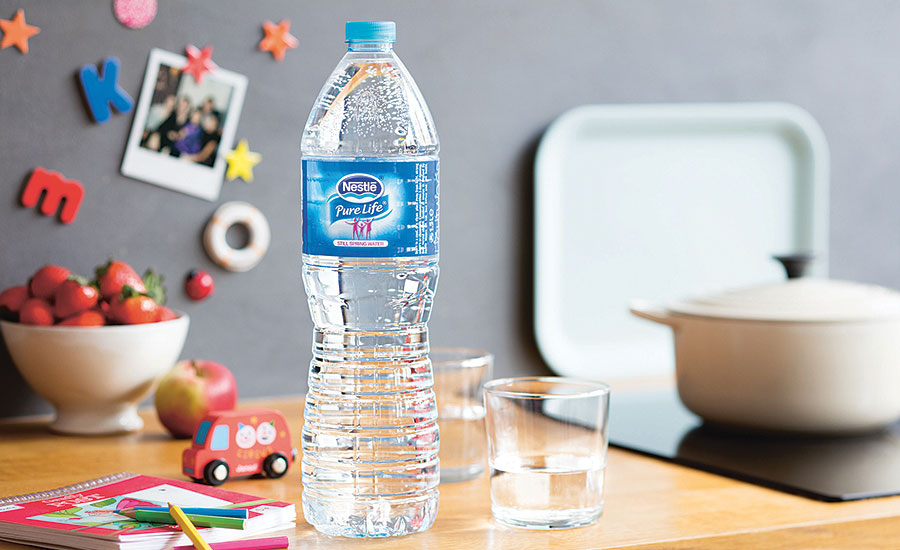 Nestlé Pure Life is the largest bottled water brand in the world