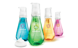 Over the years method has brought the concept of foam to new categories, such as body wash