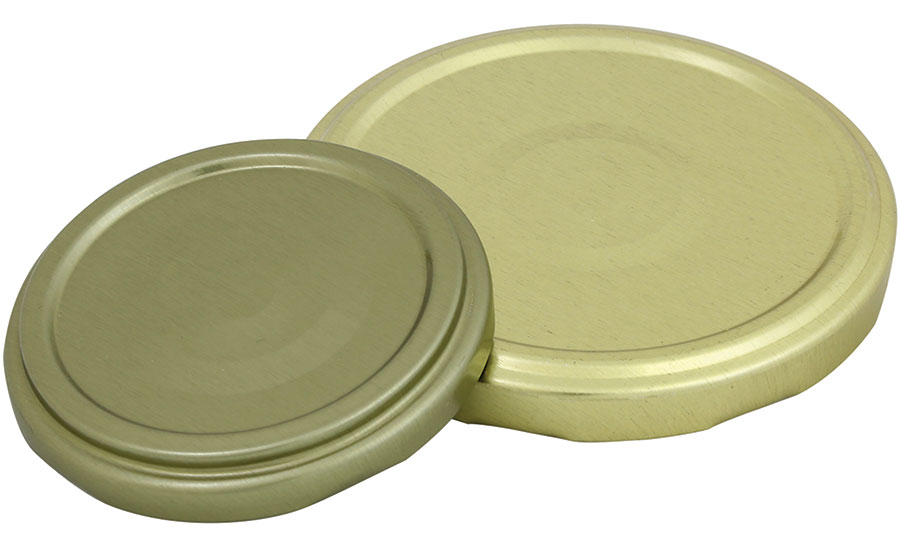 Silgan's metal lids for PET jars