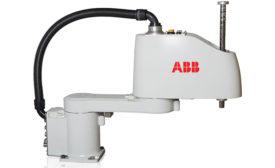 ABB Robotics' Selective Compliance Articulated Robot Arm (SCARA)