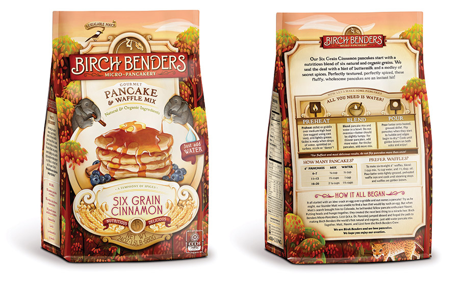 Birch Benders' pancake mix in pouches