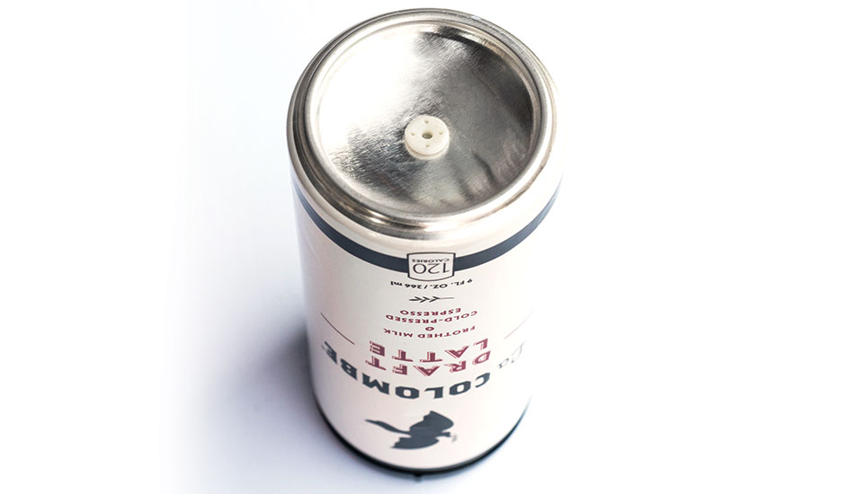 The InnoValve can is comprised of a proprietary one-way valve/grommet at the bottom of the can that compresses a nitrous oxide gas into the drink upon opening