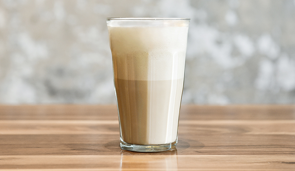 The Draft Latte's texture mimics the foam that comes with a latte in one of La Colombe's cafés