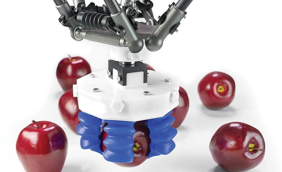 Soft Robotics single end-of-arm tool (EOAT)