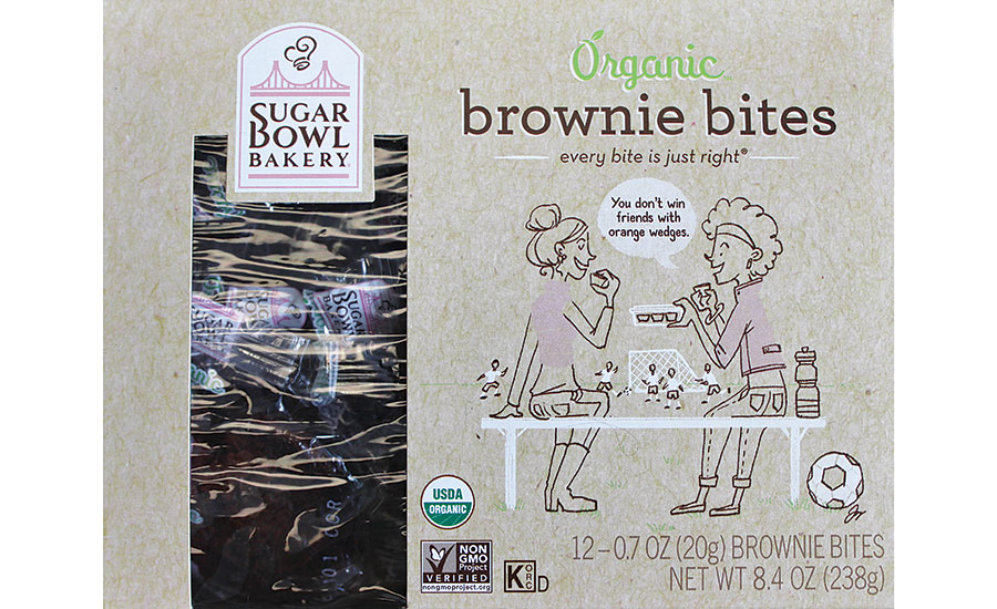 Sugar Bowl Bakery launched a fully compostable line of packaging for its organic products