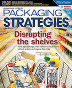 Packaging Strategies September 2016 Cover