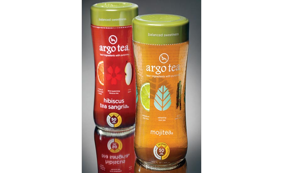 Argo Tea Packaging Comfortable in your Hand