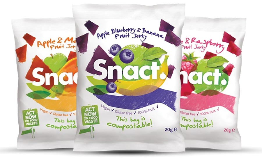 Snact Packaging Sustainability