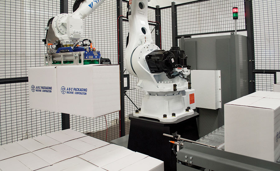 The new 700 series robotic palletizers from A-B-C Packaging
