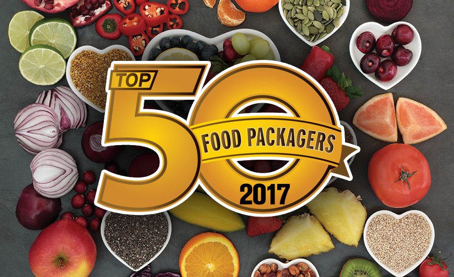 Top 50 food packaging companies of 2017