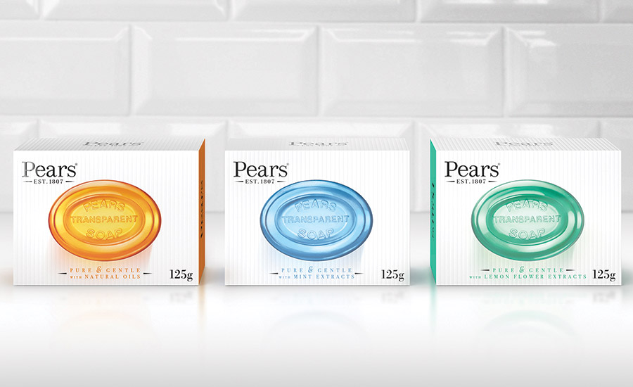 Hornall Anderson revamped Pears soap