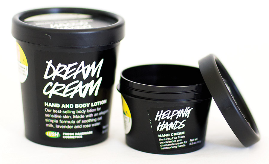 Lush Cosmetics' Black Pot