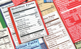 FDA new nutrition facts labeling